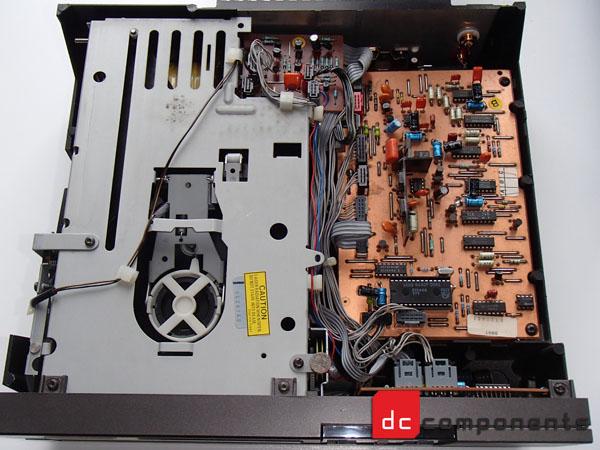 Philips cd104 - widok wnętrza