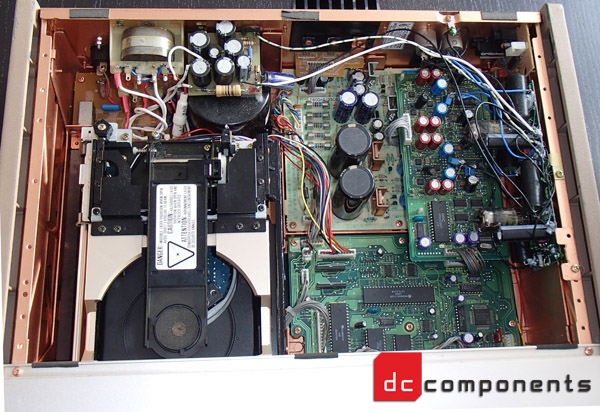 marantz cd 11 LE inside