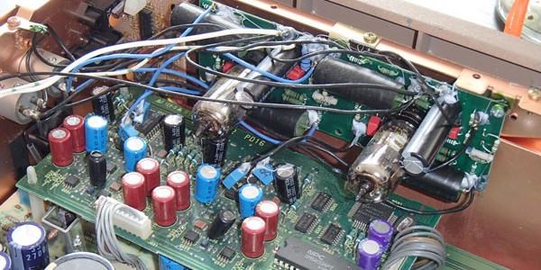 marantz cd 11le tube output