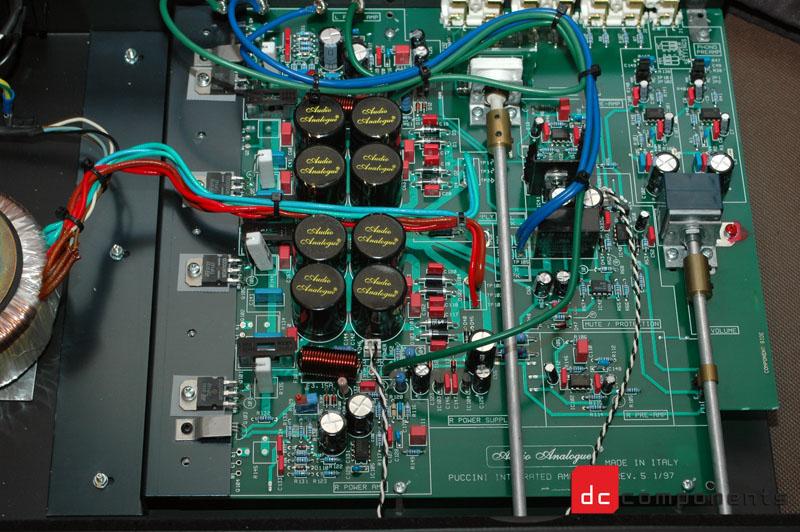 wnętrze audio analogue puccini