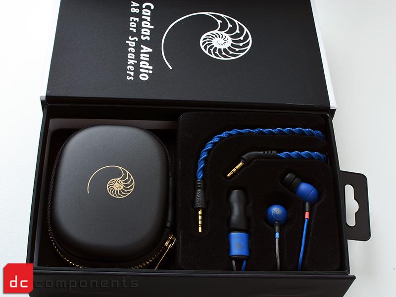 Cardas Audio w opakowaniu - słuchawki A8