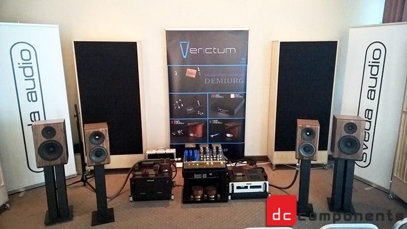 Audio Video Show 2015 - Sala odsłuchowa Verictum / Sveda Audio