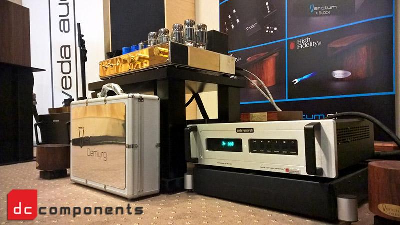 Audio Research CD7 - modyfikacja dc-components