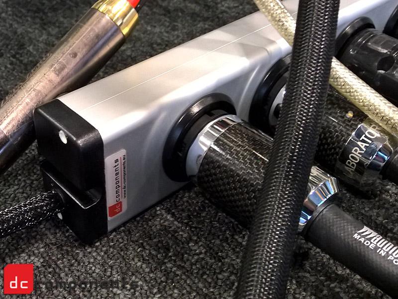 Listwa zasilająca dc-components z kablami Audiomica  ALLBIT CONSEQUENCE M2