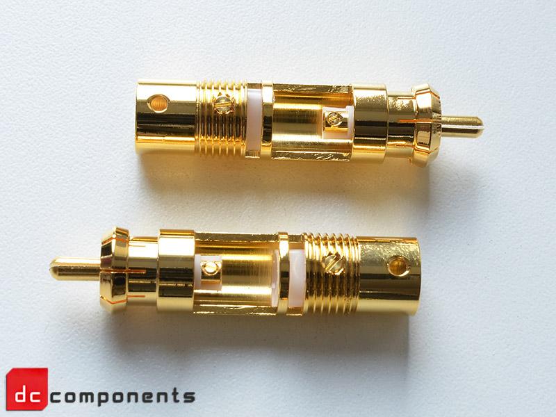 Wtyki cinch do przewodów audio - hifi-tuning
