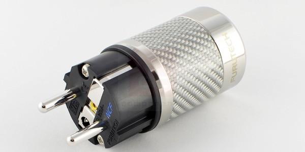 Furutech FI-E50 NCF (R) - wtyk Schuko na kabel zasilający